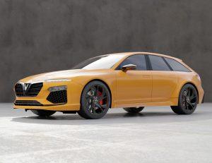 Thiết kế ban đầu là một chiếc Lux A2.0 wagon thông thường.