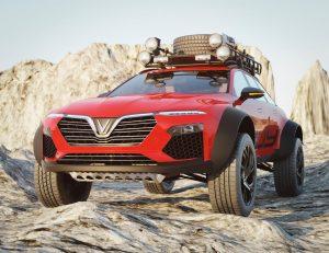 Xe VinFast Lux A2.0 wagon biến thành mẫu xe lai SUV hầm hố.