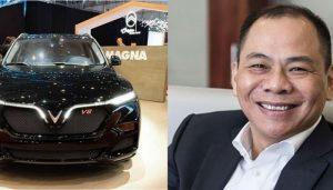 Xe ô tô Vinfast President và ông Phạm Nhật Vượng