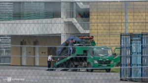 VinFast President lộ diện trần trụi tại đường đua F1 - Mỹ Đình. (Ảnh: VnExpress)